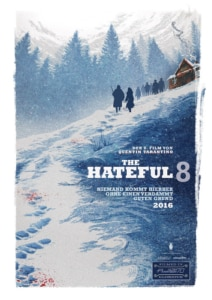 Key Visual - The Hateful Eight Teaserposter