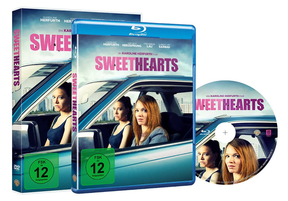 Sweethearts - Home Video - Packaging