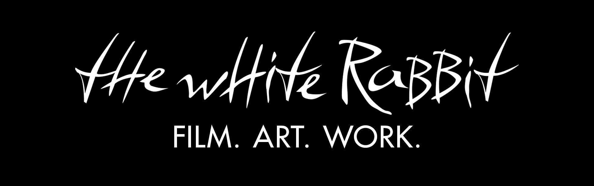 Filmmarketing Grafikdesign Agentur - The White Rabbit - Header