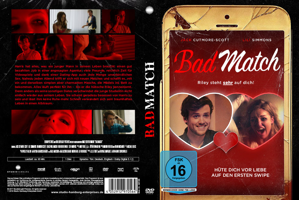 Bad Match - Artwork - Home Video - Cover