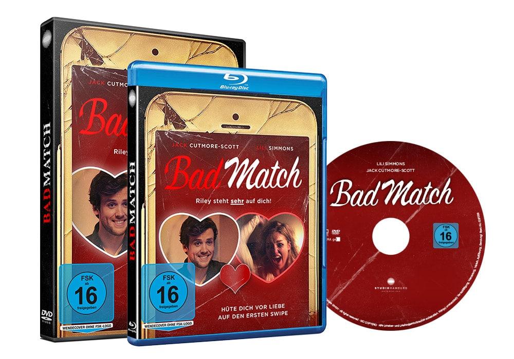 Bad Match - Artwork - Home Video - Packaging