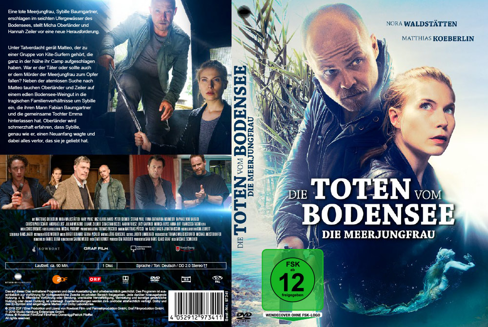 Die Toten vom Bodensee: Die Meerjungfrau - Artwork - Home Video - Cover
