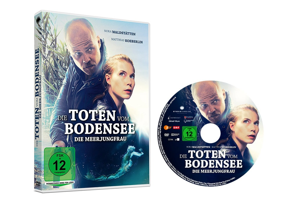 Die Toten vom Bodensee: Die Meerjungfrau - Artwork - Home Video - Packaging
