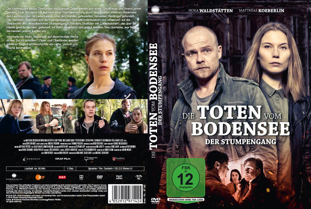 Die Toten vom Bodensee: Der Stumpengang - Artwork - Home Video - Cover