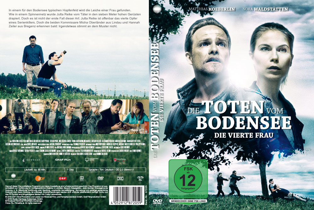 Die Toten vom Bodensee: Die vierte Frau - Artwork - Home Video - Cover