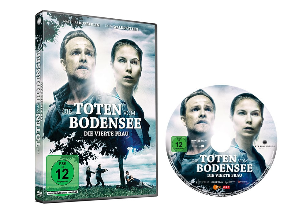 Die Toten vom Bodensee: Die vierte Frau - Artwork - Home Video - Packaging