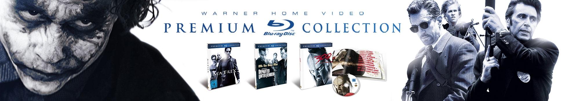 Warner Bros - Premium Collection - Home Video Design - Header
