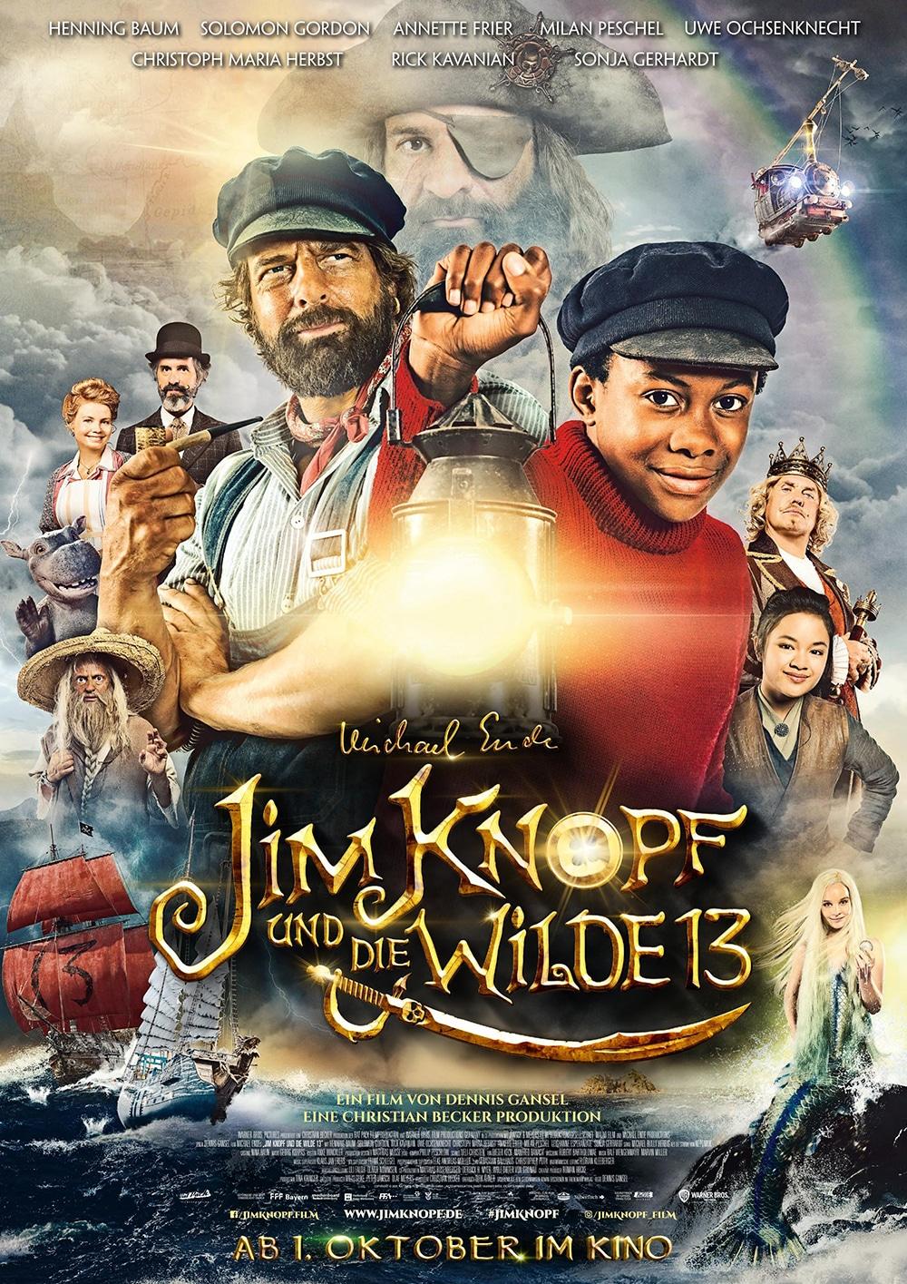 Jim Knopf und die wilde 13 - Artwork - Key Visual - Poster