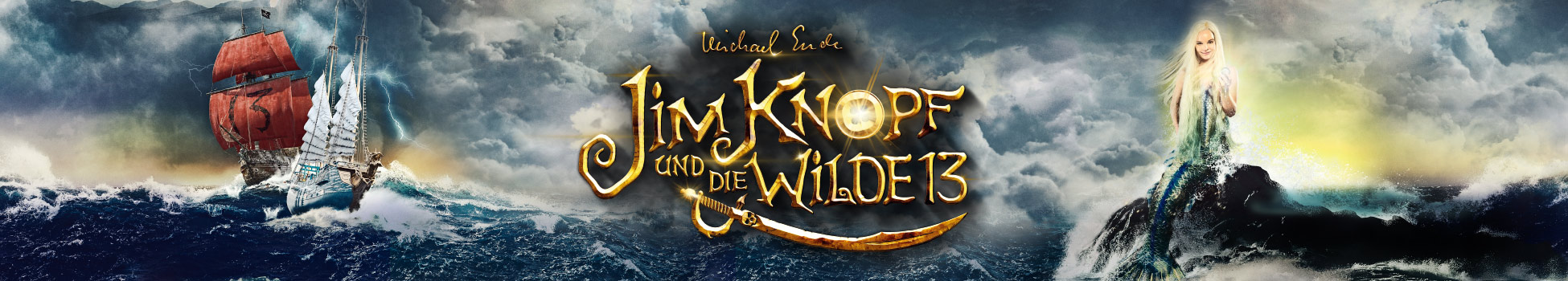 Jim Knopf und die wilde 13 - Artwork - Key Visual - Header