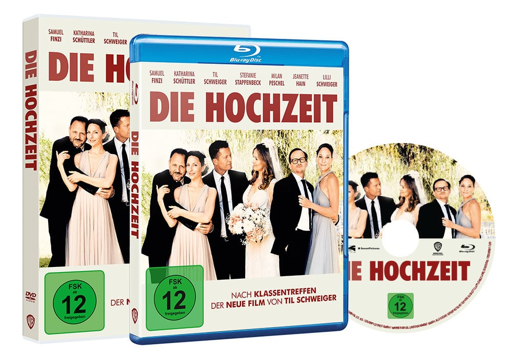Die Hochzeit - Artwork - Home Video - Packaging 1