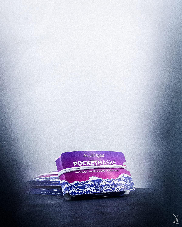 Pocketmaske - Pocketmasken - TWR - Fotoshooting 2020 - Produktfotografie - The White Rabbit - Bild 5