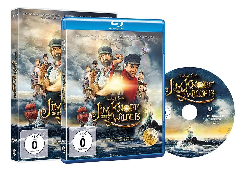 Jim Knopf und die wilde 13 - Home Video Packaging