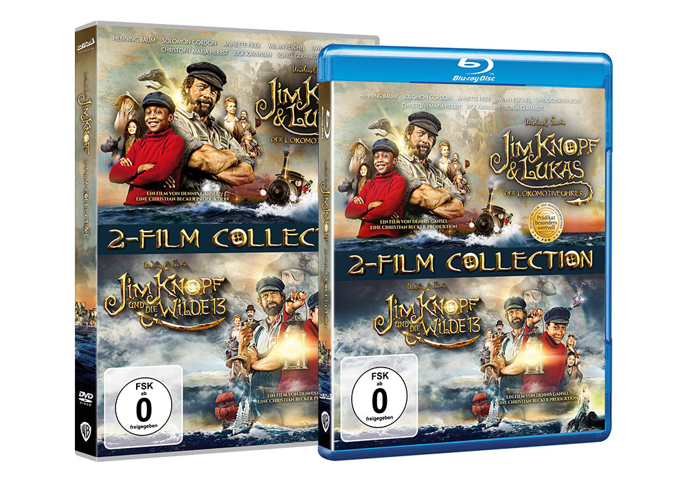 Jim Knopf - 2 Film Collection - Home Video Packaging